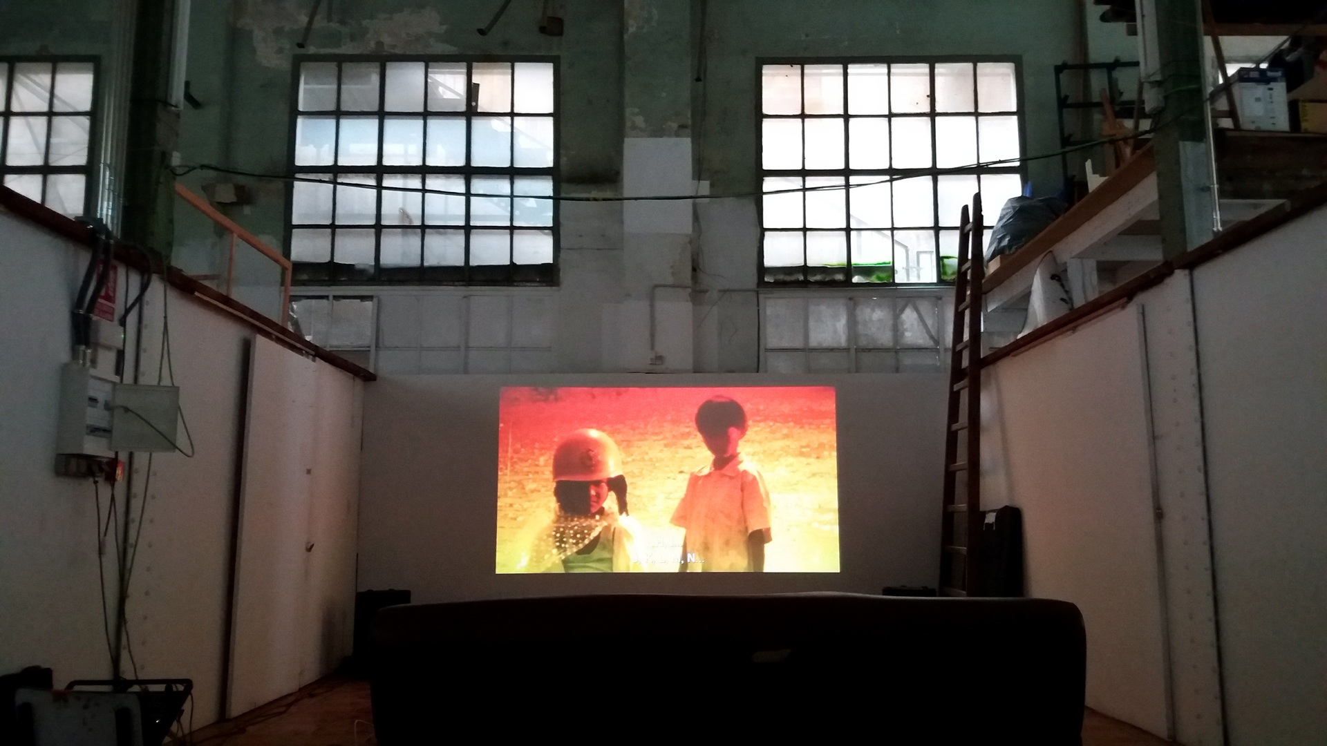 Projections from the Underground Film screenings About Image David Franklin